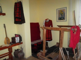 DOMESTIC, TRADITIONAL ROOM, VILLAGE OF KNIZHOVNIK